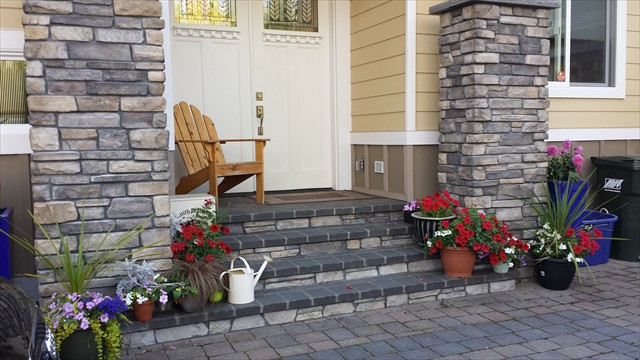 Paver Driveway and steps